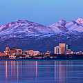 Anchorage Lights by Ed Boudreau