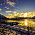 Anchorage Sunrise by Matthew Downes