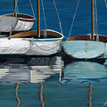 Anchored Reflections I by Sharon Kearns
