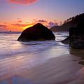 Anchoring The Beach by Mike  Dawson