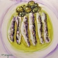 Anchovies And Olives by Laurie Morgan