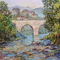 Ancient Bridge by Lou Ann Bagnall