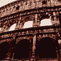 Ancient Colosseum, Rome by Andrea Mazzocchetti