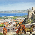 Ancient Corinth by Roger Payne