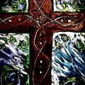 Ancient Cross by Hae Kim