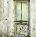 Ancient Doorway Rome Italy Pencil by Edward Fielding