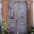 Ancient Garden Doors In Greece by Sabrina L Ryan