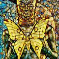 Ancient Goddess The Mother by Olga Hamilton