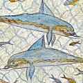 Ancient Greek Dolphins by Jerome Stumphauzer