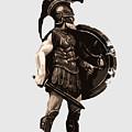 Ancient Greek Hoplite by Andrea Mazzocchetti