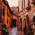 Ancient Italian Village by Andrea Mazzocchetti