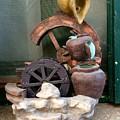 Model Of Ancient Water Mill In Greece  by Viktoriya Sirris