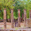 Ancient Olympia, Greece. by Marek Poplawski