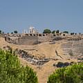 Ancient Pergamon Acropolis by Bob Phillips