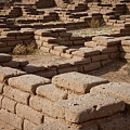Ancient Pueblo Adobe Walls by Mary Lee Dereske