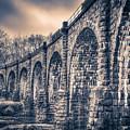 Ancient Railroad Bridge by T Brian Jones