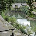 Ancient Roman Foot Bridge by Joe  Geare