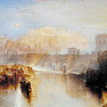 Ancient Rome - Agrippina Landing With The Ashes Of Germanicus by JMW Turner