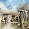 Ancient Rome II by Ronald Bolokofsky
