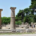 Ancient Ruins Wide Columns by Mark Victors
