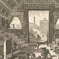 Ancient School Built According To The Egyptian And Greek Manners by Giovanni Battista Piranesi
