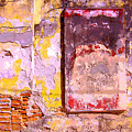 Ancient Wall 7 By Michael Fitzpatrick by Mexicolors Art Photography