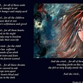 And She Cried - Poetry In Art by Robin Monroe