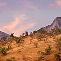 Andalucian Landscape Near Zahara De La Sierra Spain by Mal Bray