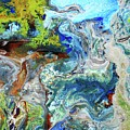 Andes-glacier...serie by Adolfo hector Penas alvarado