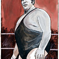 Andre The Giant by Dave Olsen