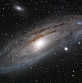 Andromeda Galaxy Lightened by William Carter