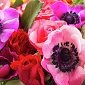 Anemones And Roses by Anastasy Yarmolovich