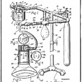 Anesthetic Machine Patent 1919  by Bill Cannon
