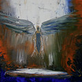Angel Abstract  by Sheri Shirangi