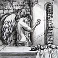 Angel And Still Life by Maritza Sanipatin