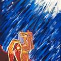 Angel Beckons Their Return by Albert  Almondia