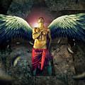 Angel Body Art by Mark Ashkenazi