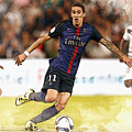 Angel Di Maria Controls The Ball by Don Kuing