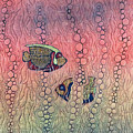 Angel Fish by Peggy Wright