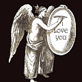 Angel Happy Valentine by Eric Kempson
