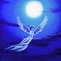 Angel In Blue Starlight by Laura Iverson