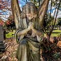 Angel In Prayer by Adrian Evans