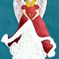 Angel In Red by Cathy Jourdan