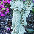 Angel In The Garden by Priscilla Burgers