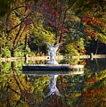 Angel In The Lake - St. Mary's Ambler by Bill Cannon