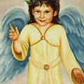 Angel In Yellow by Joni McPherson