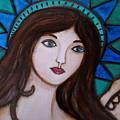 Angel Kim by Pristine Cartera Turkus