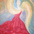 Angel Of Fire by Helene  Champaloux-Saraswati