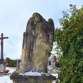 Angel On Graveyard by Miroslav Nemecek