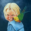 Angel On My Shoulder by Joni McPherson